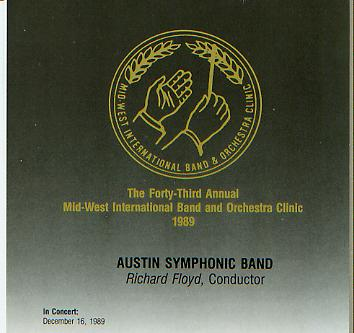 1989 Midwest Clinic: Austin Symphonic Band - hier klicken