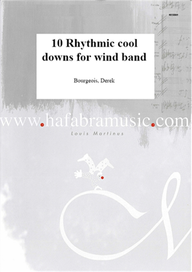 10 Rhythmic cool downs for wind band - hier klicken