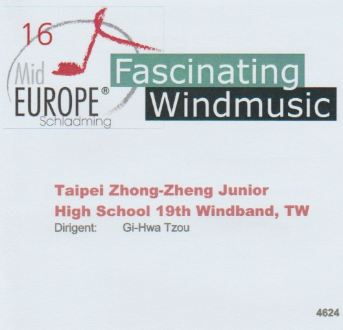 16 Mid Europe: Taipei Zhong-Zheng Junior High School 19th Windband - klicken für größeres Bild