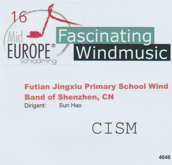 16 Mid Europe: Futian Jingxiu Primary School Wind Band of Shenzhen - hier klicken