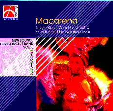 New Sounds for Concert Band  #8: Macarena - hier klicken