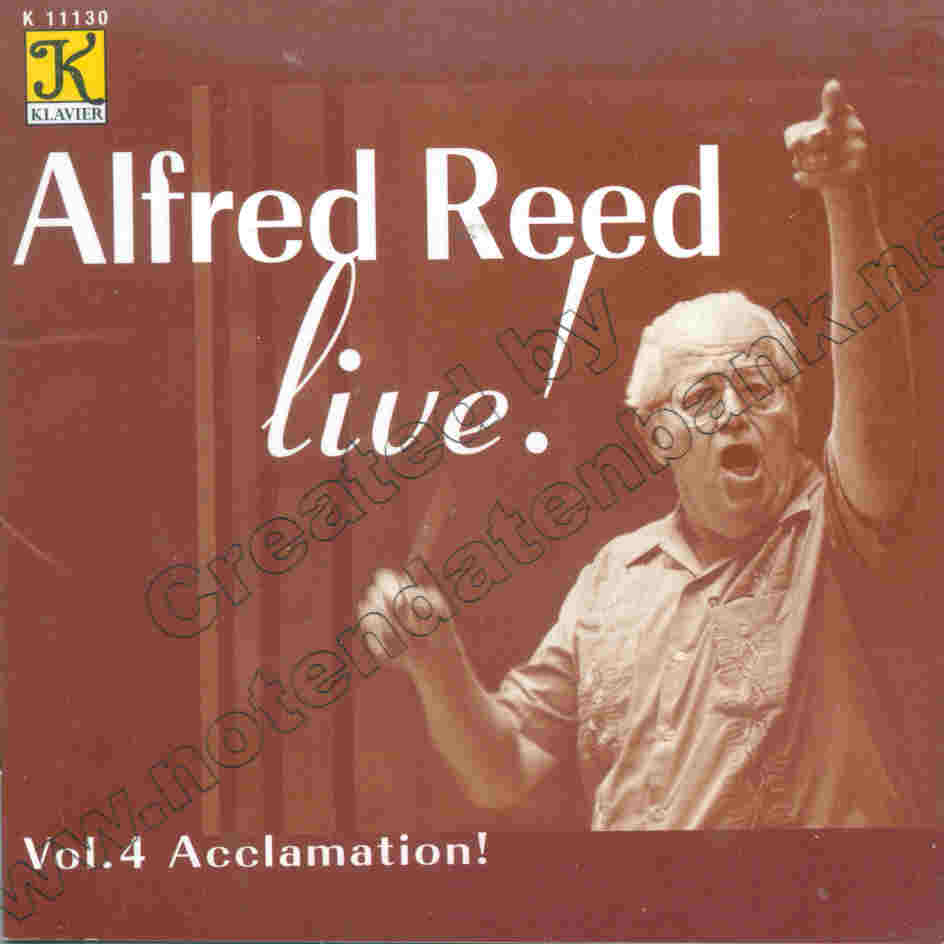 Alfred Reed Live #4: Acclamation - hier klicken