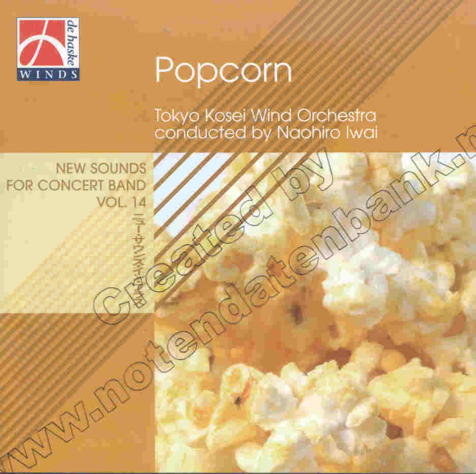 New Sounds for Concert Band #14: Popcorn - hier klicken