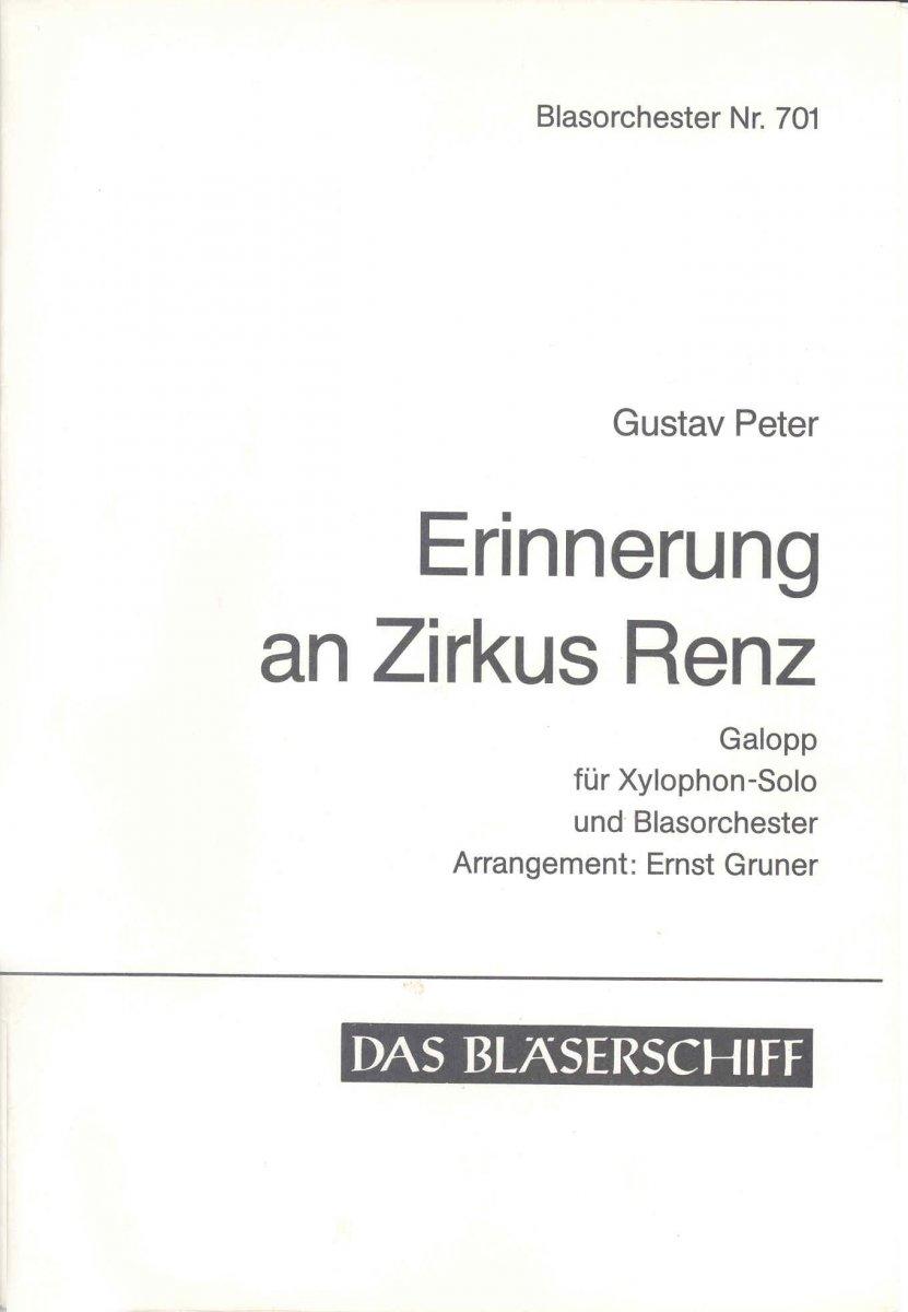 MusicaInfo.net/Detail/Erinnerung an Zirkus Renz (9217400)