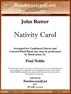 Nativity Carol, John Rutter, Paul Noble - hier klicken